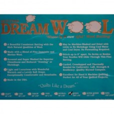 Quilt Batting Pack - Quilters Dream 100% Wool - King