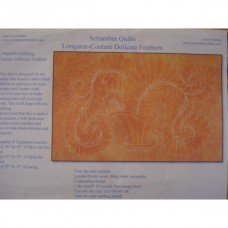 Longarm Tutorial - Sharon Schamber - Couture Delicate Feathers